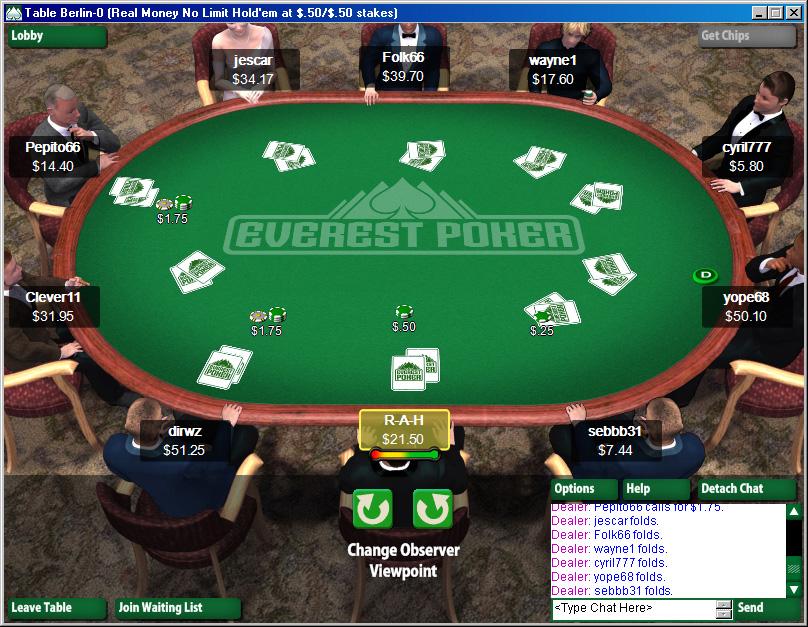 everest poker erfahrungen
