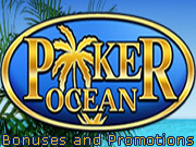 Poker Ocean Bonuses and Promotions