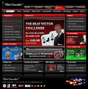 Screenshot des VC Poker Website