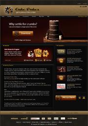 Screenshot del Sito Web di CakePoker