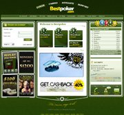 Screenshot of the BestPoker website